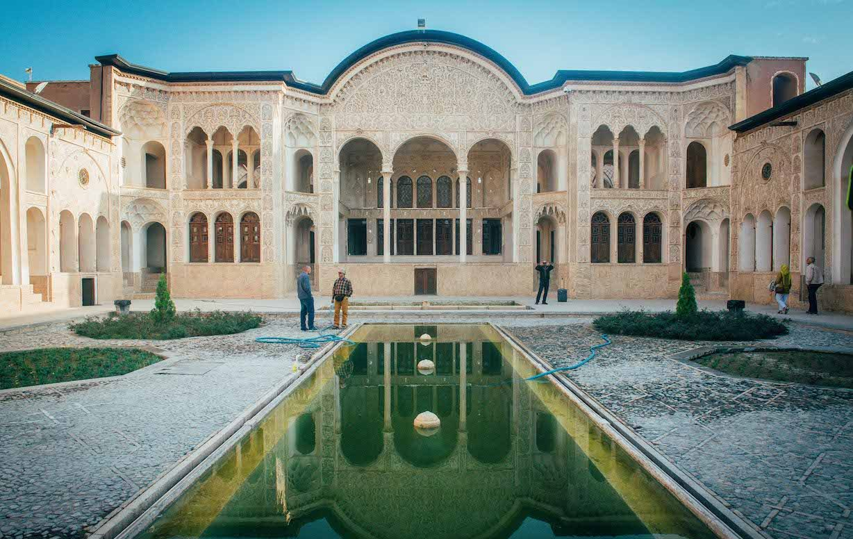 2.Traditional houses in Kashan